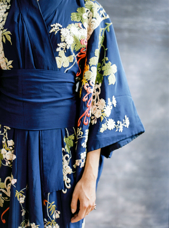 kimono novia vintage