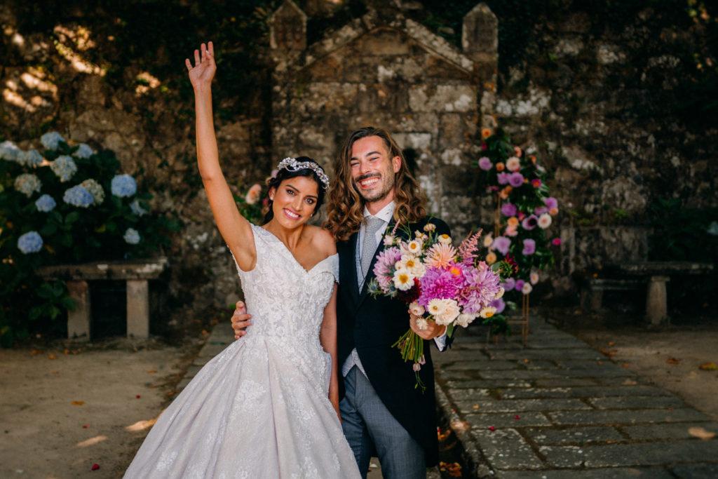 boda gallega en pazo