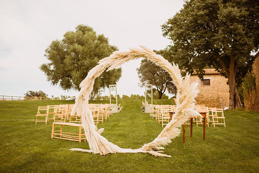 decoracion arco boda