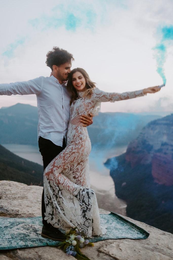 elopement tendencia bodas