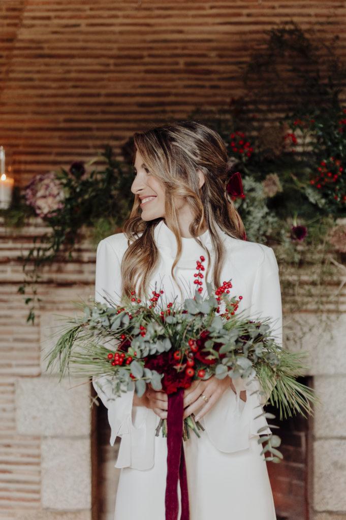 ramo novia invernal