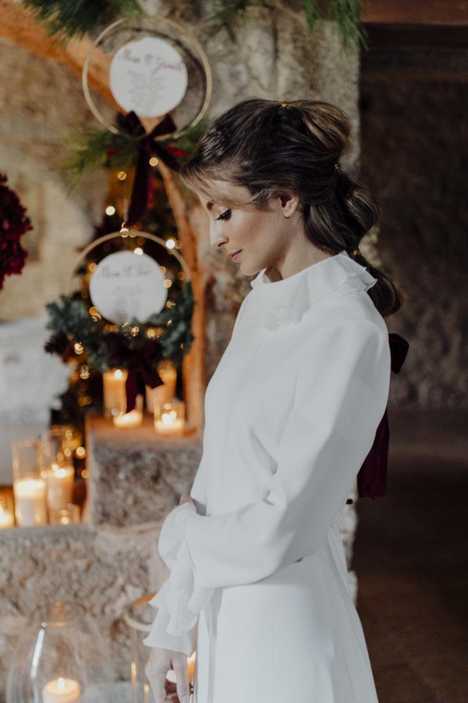 novia invierno