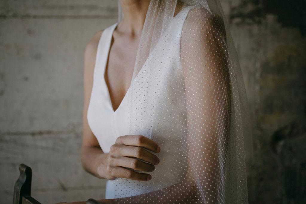 velo plumeti para novia Otaduy