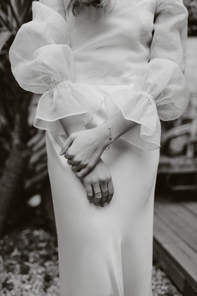 vestido novia boda intima