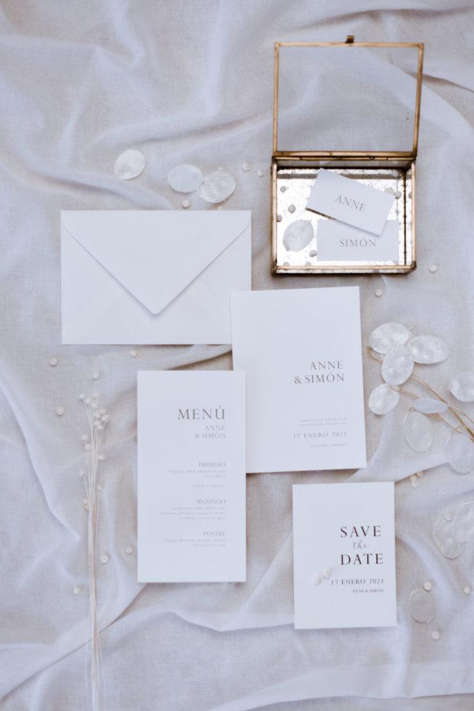 invitaciones de boda sencillas