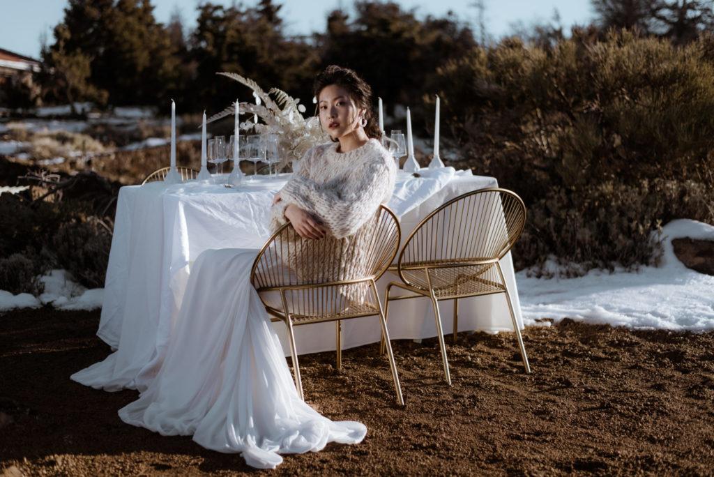 novia de inverno