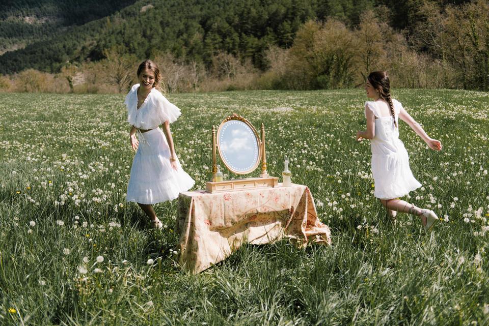 vestidos de lino para novias