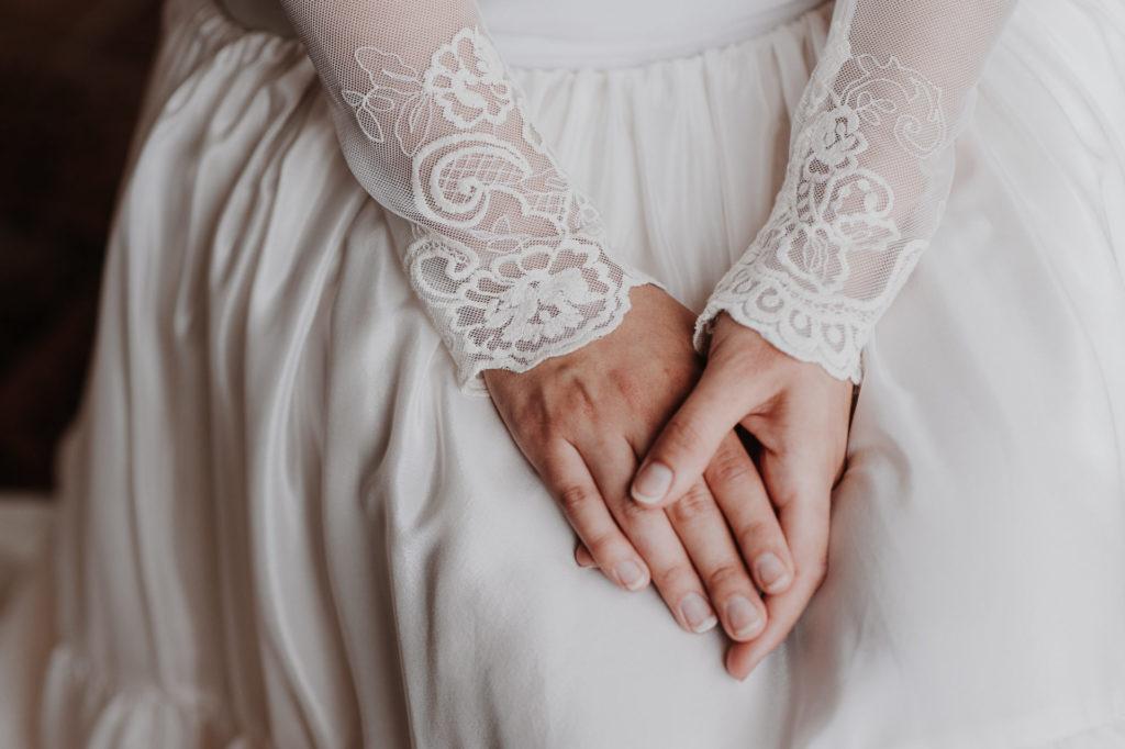 manicura novia