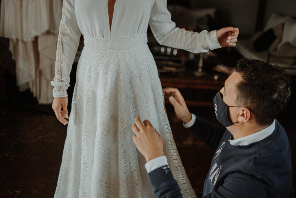 disenador vestidos de novia Sevilla