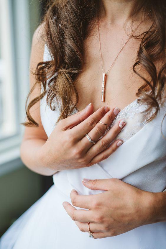 collar para novia