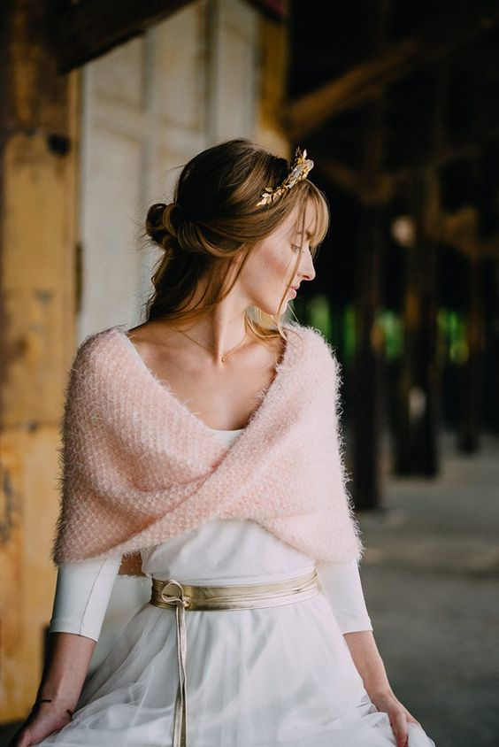 novia con collar